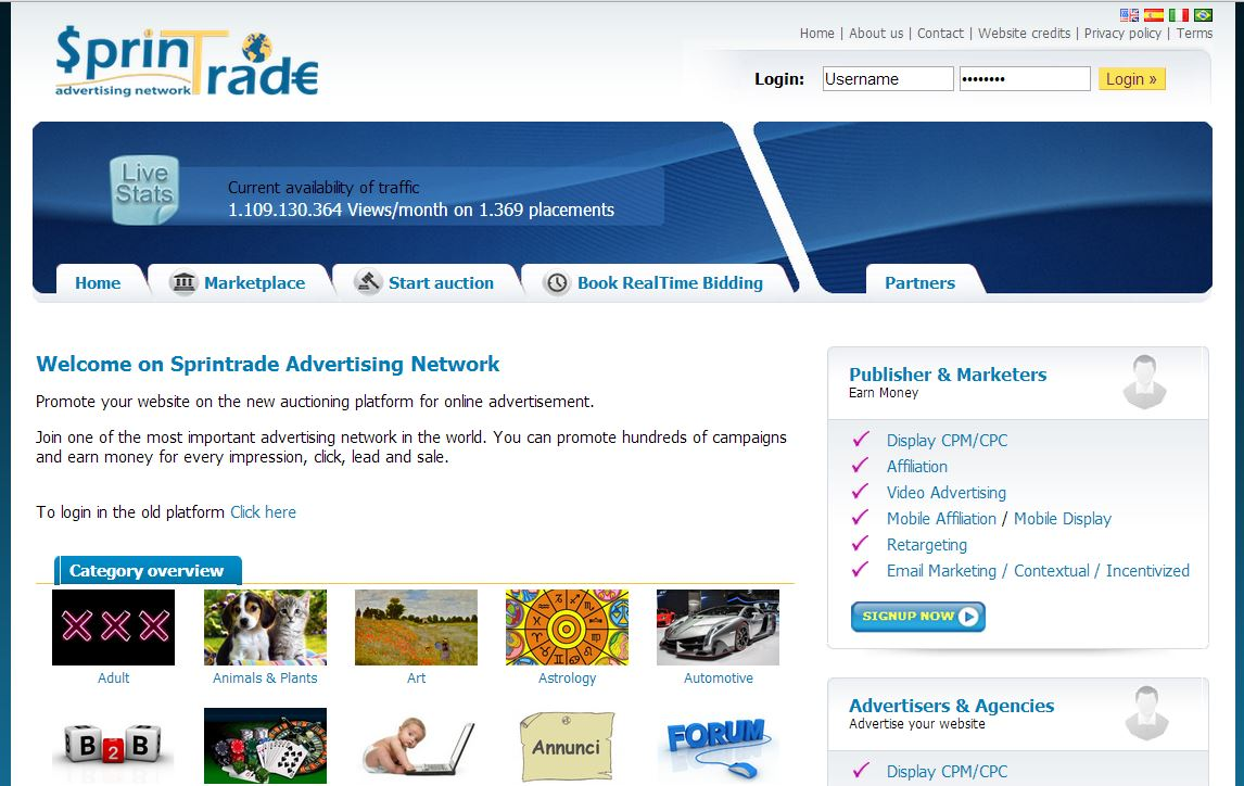 Screenshot extrabyte.info